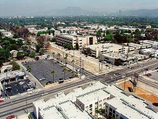 The North Hollywood Arts District area
